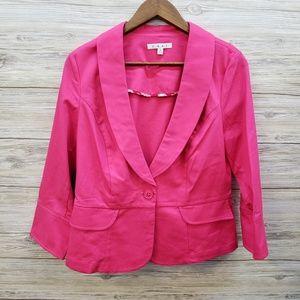 Cabi Style 310 Hot Pink Blazer